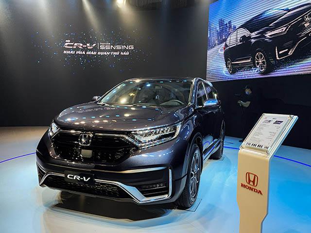 Giá lăn bánh Honda CR-V lắp ráp tại Việt Nam, giảm 50% lệ phí trước bạ