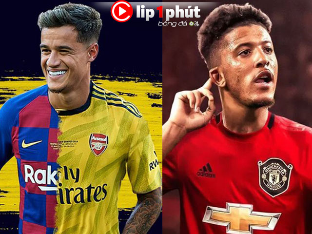 Amazed Arsenal lured to buy Coutinho, Sancho to MU how much?  (1 minute Clip 24H Football)