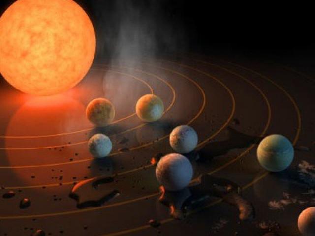 """""""Hệ mặt trời"""" khác có tới… 7 trái đất, có thể ở được!"""