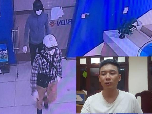 """Tên cướp BIDV: """"Em không dám tiêu nhiều tiền vì sợ… phải đi án dài"""""""
