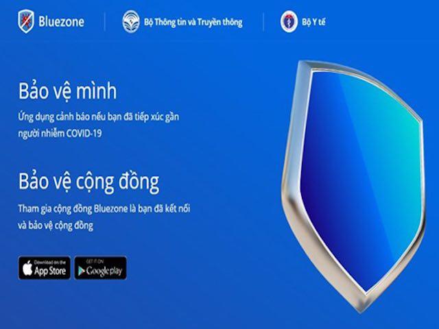 """Những câu hỏi thường gặp về ứng dụng """"khẩu trang điện tử"""" Bluezone"""