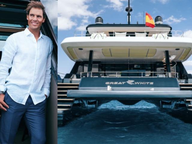 Nadal ăn chơi không kém Ronaldo, tậu siêu du thuyền 136 tỷ đồng