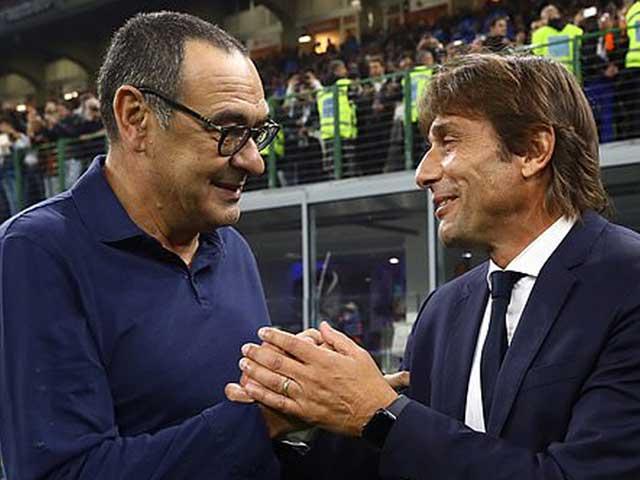 """Thực hư Conte mơ đá ghế Sarri làm thầy Ronaldo: Vì sao MU """"tá hỏa""""?"""