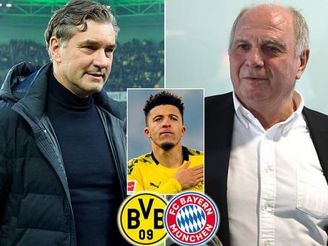 """""""Bom tấn"""" Sancho khiến MU tính hủy kèo, sếp lớn Bayern - Dortmund """"khẩu chiến"""""""