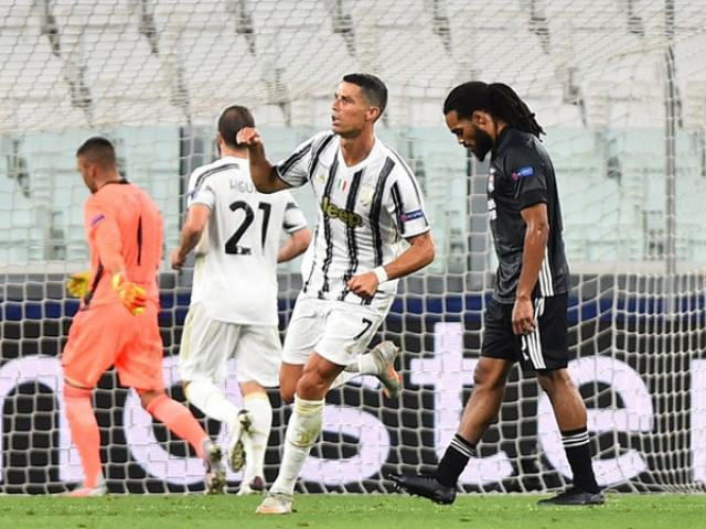 Kết quả bóng đá Cúp C1 Juventus - Lyon: Cú đúp Ronaldo, kết cục khó ngờ