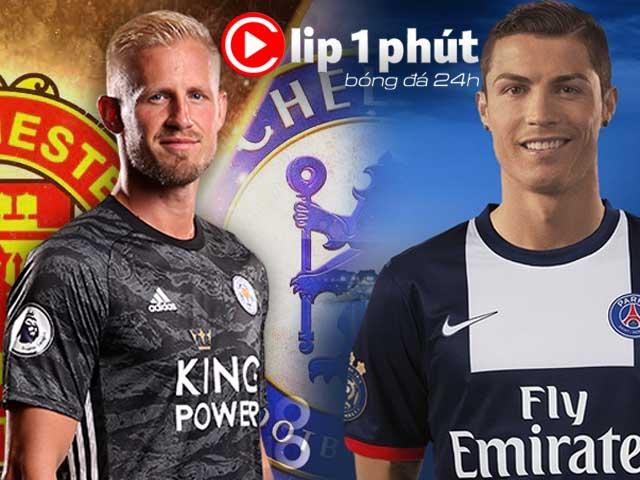 MU đại chiến Chelsea vì siêu thủ môn, Ronaldo đón tin sốc từ PSG (Clip 1 phút Bóng đá 24H)