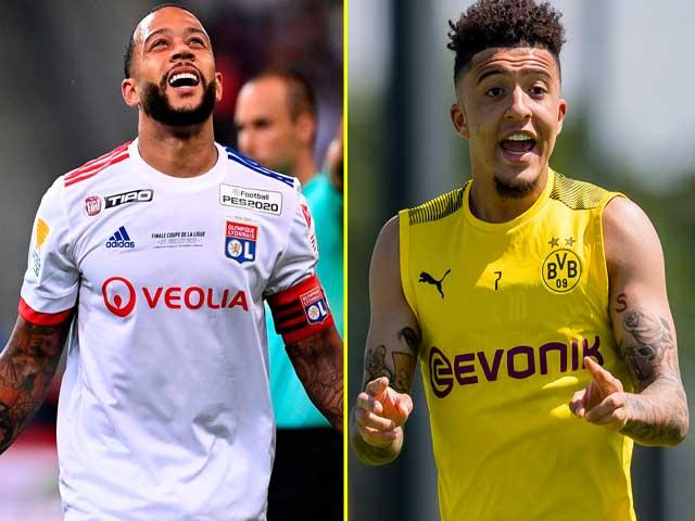 Depay đá panenka loại Ronaldo - Juventus Cúp C1: MU mua lại đá cặp Sancho?