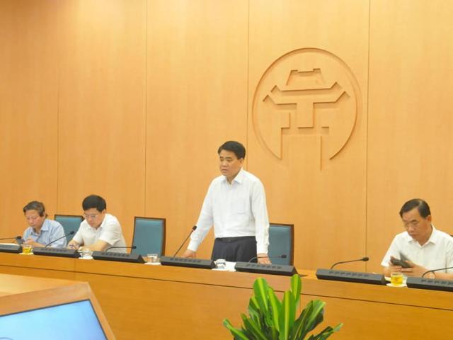 Chủ tịch TP.Hà Nội: Phải xét nghiệm PCR xong cho người về từ Đà Nẵng trước 20/8