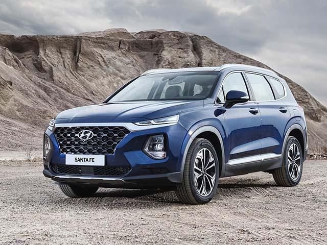 Bảng giá xe Hyundai SantaFe lăn bánh mới nhất tháng 8/2020
