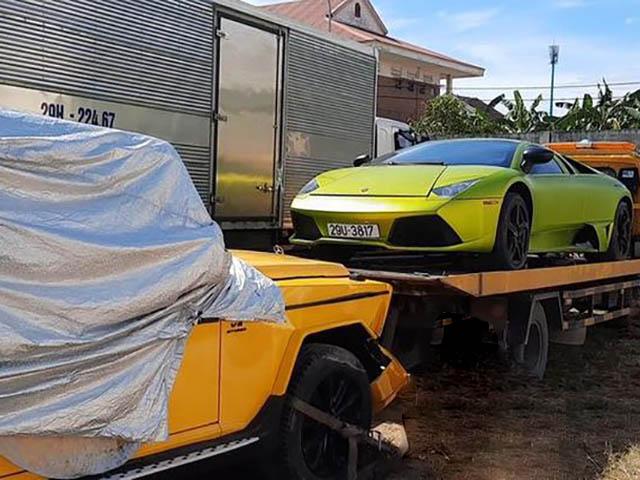 """Lamborghini Murcielago và Mercedes-Benz G-Class """"không rõ lai lịch"""" xuất hiện tại Việt Nam"""