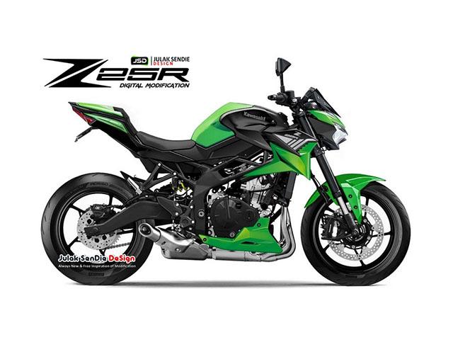 "Kawasaki Ninja Z25R lộ ảnh thực tế: Yamama MT-25 lại ""đau đầu"""