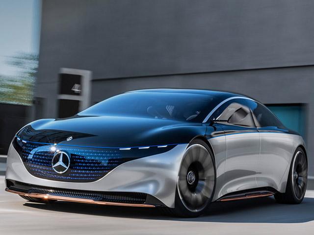 Daimler hợp tác với các hãng pin châu Á để phát triển dòng xe điện EQS