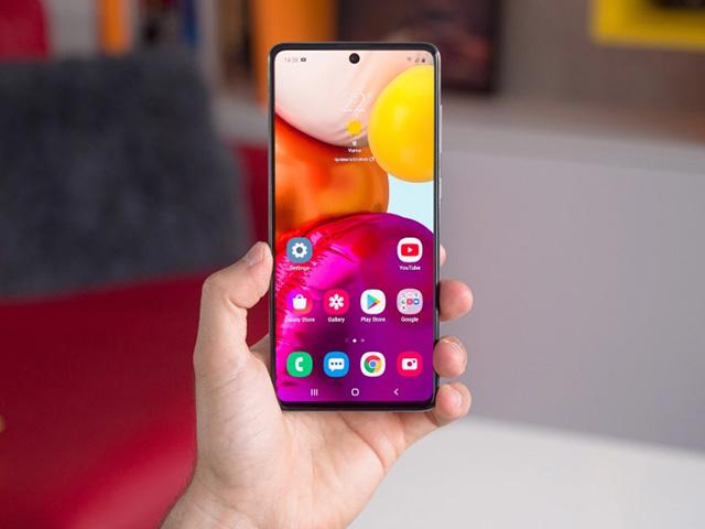 Điện thoại Galaxy A đã có thêm tính năng bảo mật mới