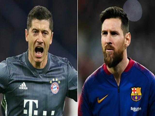Barca đấu Bayern tứ kết Cúp C1: Messi & Lewandowski, ai định đoạt đại chiến?