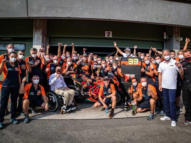 """Đua xe MotoGP, Czech GP: Cuộc đua lịch sử cho """"bò húc"""" KTM và ngôi sao Binder"""