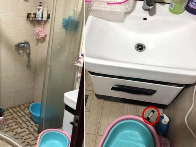 TQ: Phát hiện camera quay lén trong phòng tắm, sốc nặng khi lộ mặt kẻ đứng sau
