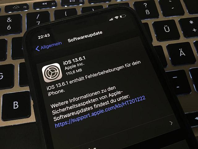 Bản cập nhật iOS 13.6.1 mang đến những gì?