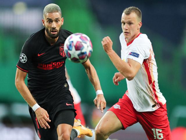 Trực tiếp bóng đá RB Leipzig - Atletico Madrid: Felix gỡ hòa trên chấm 11m