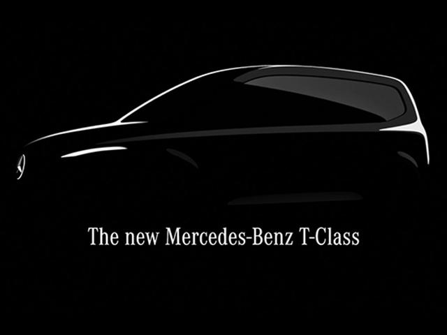 Mercedes-Benz nhá hàng thêm dòng T-Class hoàn toàn mới