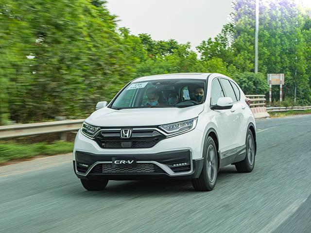 Giá lăn bánh xe Honda CR-V mới nhất tháng 8/2020