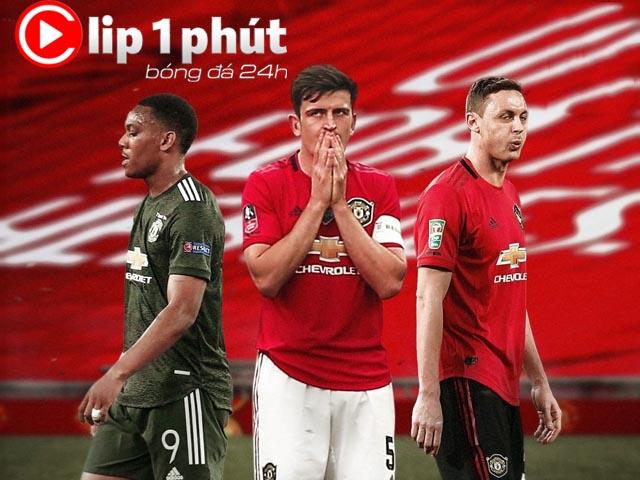 """MU thua sốc Europa League, cần gấp 2 vị trí này hơn """"bom tấn"""" Sancho (Clip 1 phút Bóng đá 24H)"""