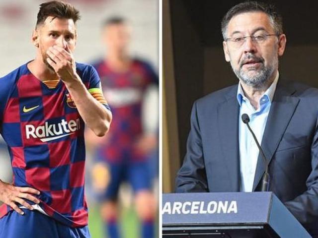 """Barca dễ sinh biến: """"Ông trùm"""" không từ chức, Messi bị ép phải ra đi"""