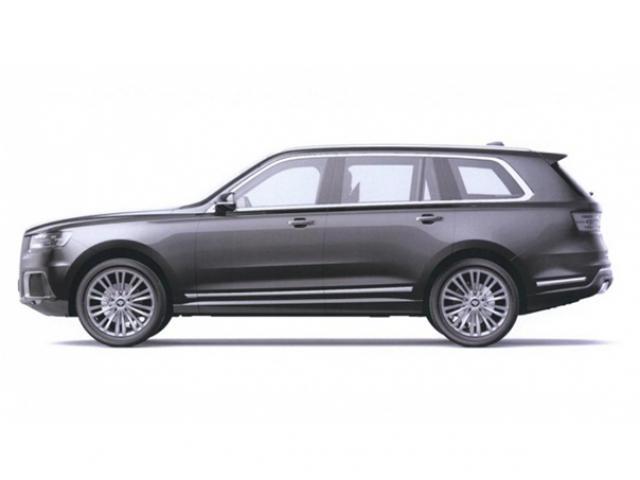 Hé lộ hình ảnh chiếc xe hạng sang được ví như Rolls-Royce Cullinan của Nga