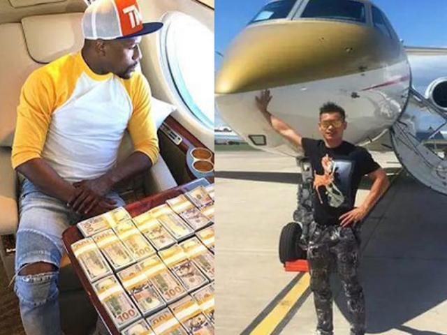 Thật hay đùa vụ võ sĩ Trung Quốc có 1 tỷ USD giàu như Mayweather?