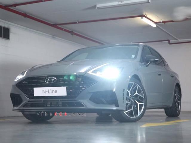 Hyundai Sonata N-Line 2021 lộ diện qua clip rò rỉ