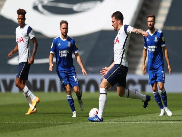 """Video highlight trận Tottenham - Ipswich Town: Son Heung Min cú đúp, 6 phút """"mở khóa"""""""
