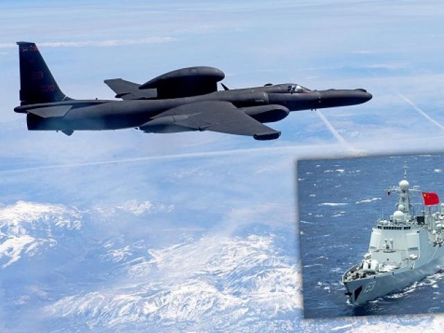 """Điều gì khiến Trung Quốc """"phát hoảng"""" khi máy bay trinh sát Mỹ xâm nhập vùng tập trận?"""