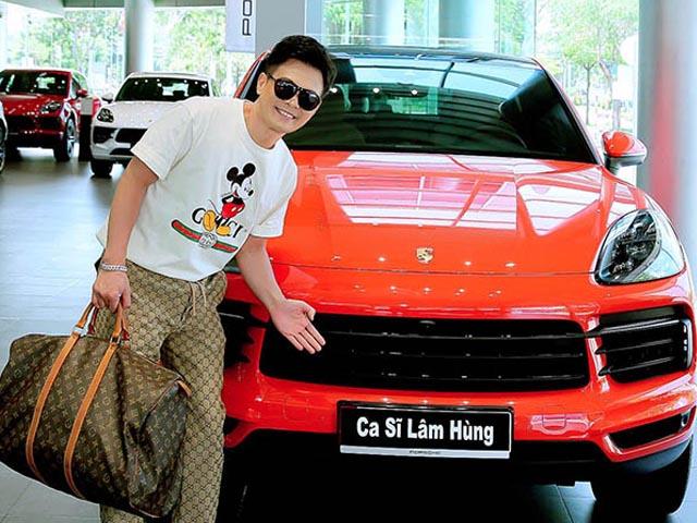 """""""Vua nhạc miền Tây"""" Lâm Hùng chi 7 tỷ tậu Porsche, đổi xế hộp 22 lần giàu cỡ nào?"""