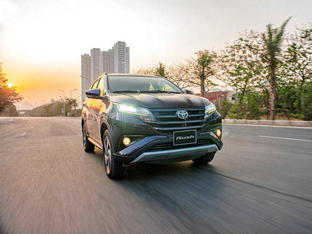Toyota Rush lọt top SUV 7 chỗ tiết kiệm nhiên liệu nhất tại Việt Nam