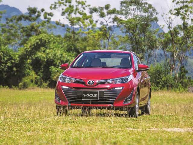 Giá xe Toyota Vios lăn bánh mới nhất tháng 9/2020