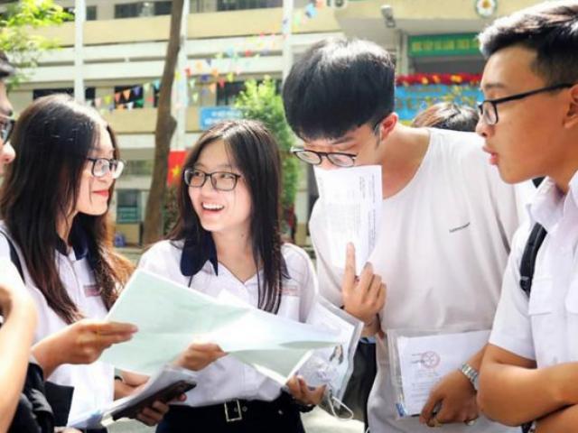 Công bố điểm sàn của một số trường đại học trên tại Hà Nội