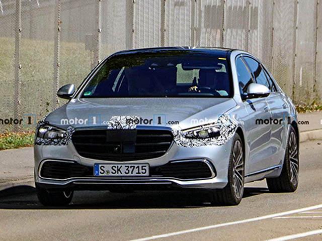 Mercedes-Benz S-Class nhá hàng công nghệ tự lái cao cấp