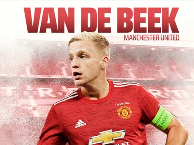 """MU đón Van de Beek: Háo hức với đội hình """"trong mơ"""" của Solskjaer"""
