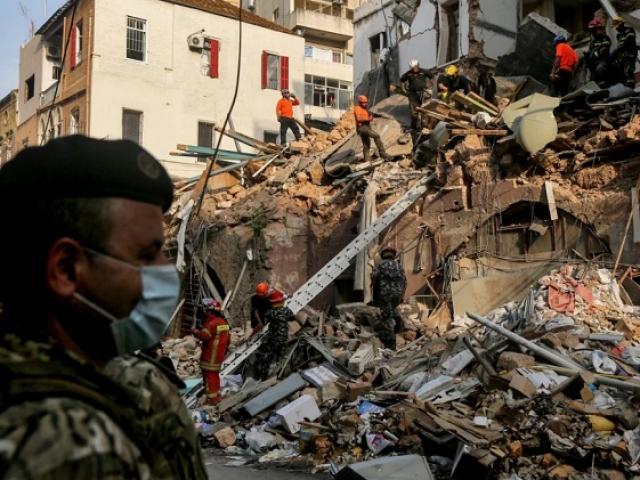 Một tháng sau vụ nổ khủng khiếp ở Liban: Phát hiện sự sống dưới đống đổ nát