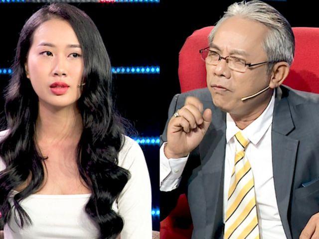 Nghệ sĩ Trung Dân chỉ trích gay gắt cô gái trẻ chê trách bố ruột