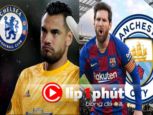 Chelsea chạy đua chốt tiếp siêu thủ môn MU, Messi còn cơ hội đến Man City? (Clip 1 phút Bóng đá 24H)