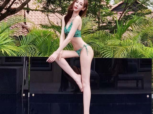 Cô gái có gương mặt đẹp nhất Malaysia dáng như búp bê sống nhờ chăm đu võng
