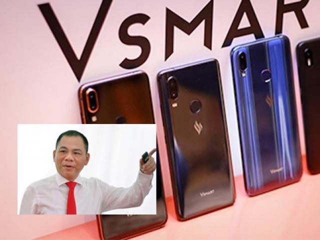 """Công ty điện thoại của tỷ phú Phạm Nhật Vượng """"hút"""" được gần 1.000 tỷ đồng"""