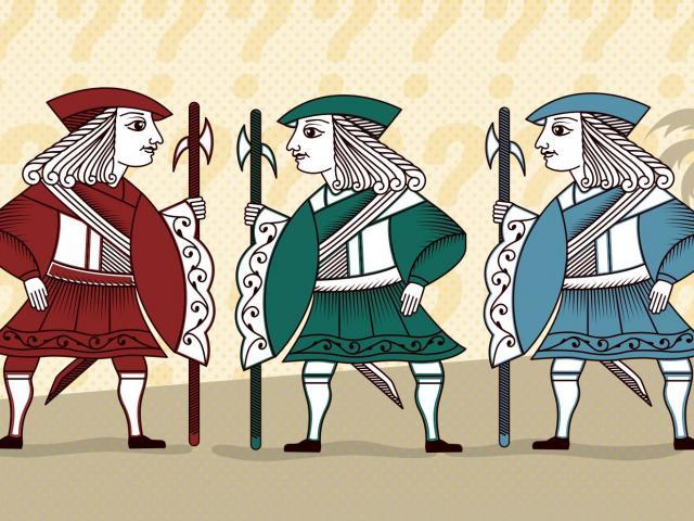Câu đố hiệp sĩ và gián điệp khiến bao người cãi nhau tìm đáp án