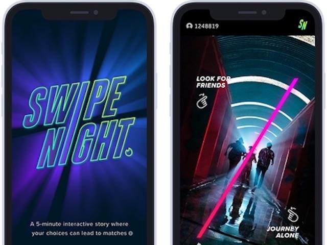 """""""Giải mã"""" tính năng tương tác Swipe Night của Tinder từng gây sốt tại Mỹ"""
