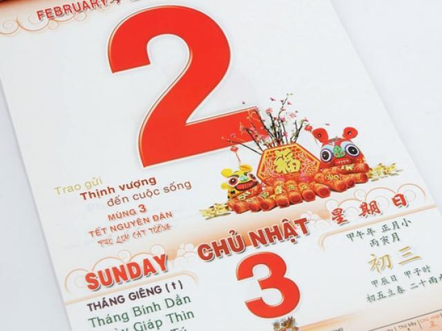 Câu đố đếm lịch vỏn vẹn 2 dòng nhưng tính cả ngày chưa ra đáp án