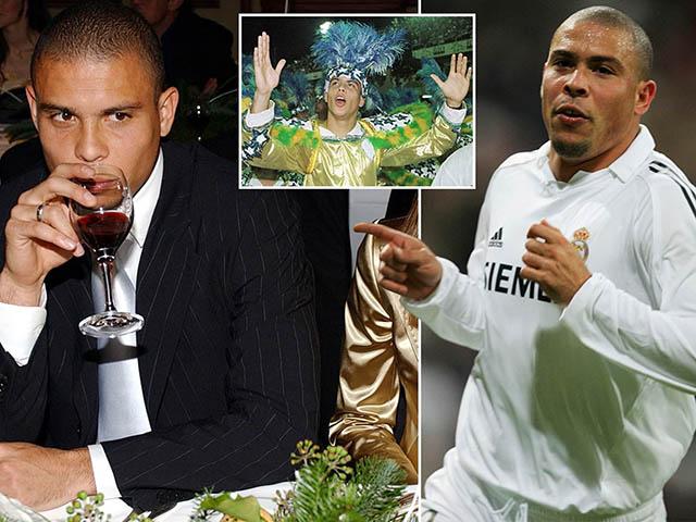 """Ronaldo """"béo"""" kể quá khứ thác loạn ở Real, giỡn mặt cả """"ông trùm"""" Perez"""