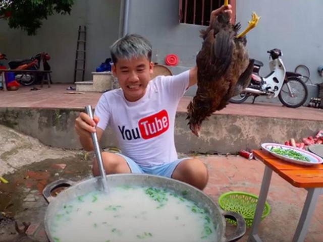 Băn khoăn việc xử phạt vụ nấu cháo gà nguyên lông