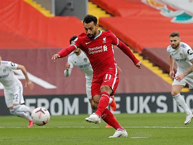 Trực tiếp bóng đá Liverpool - Leeds United: Fabinho câu 11m, Salah lập hat-trick (Hết giờ)