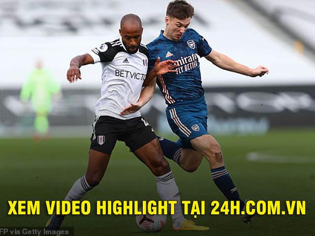 Video highlight trận Fulham - Arsenal: Đại tiệc 3 bàn, cựu SAO Chelsea tỏa sáng (Vòng 1 Ngoại hạng Anh)