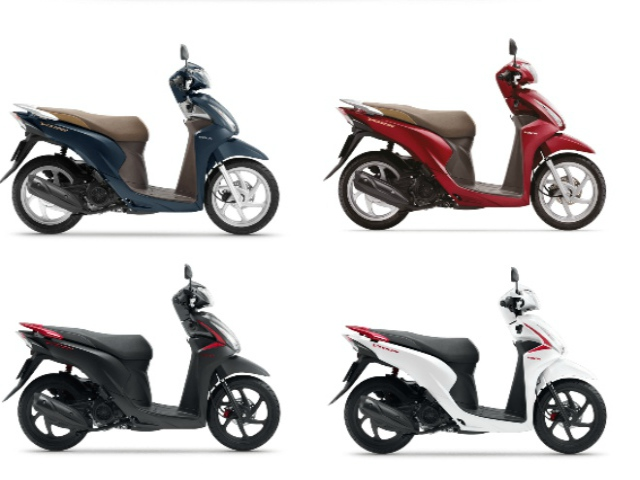 Bảng giá Honda Vision tháng 9/2020, giảm cực mạnh